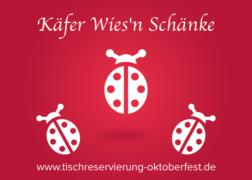Käfer Wien'n Schänke Käferzelt Oktoberfest | Tischreservierung-Oktoberfest.de