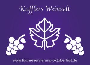 Reservation for Oktoberfest Kufflers wine tent | Tischreservierung-Oktoberfest