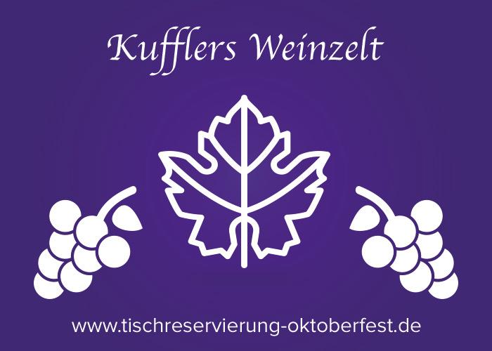 Kuflers Weinzelt | Tischreservierung-Oktoberfest.de