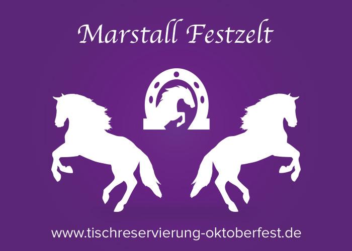 Reservation for Oktoberfest Marstall beer tent | Tischreservierung-Oktoberfest