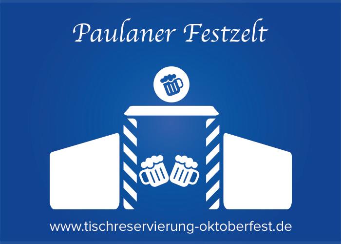 Reservation for Oktoberfest Paulaner beer tent | Tischreservierung-Oktoberfest