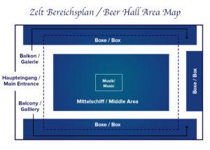 Zeltbereichsplan Augustiner Festzelt