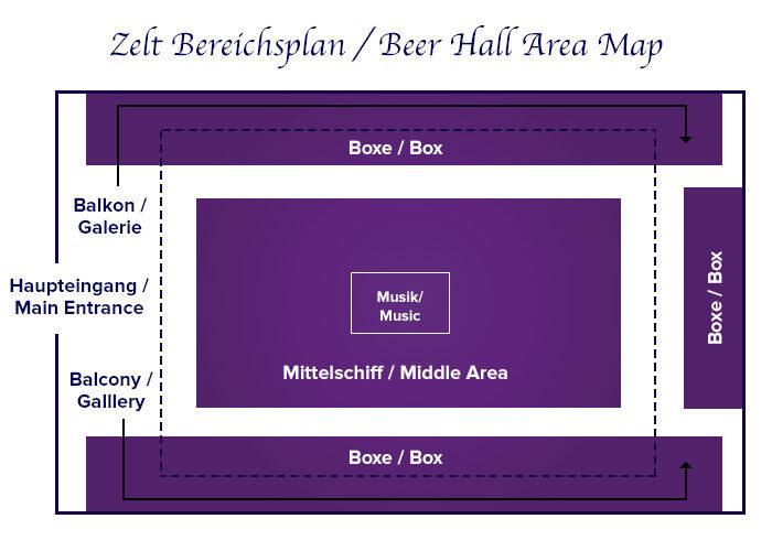 Tent areas Marstall | Tischreservierung-Oktoberfest.de