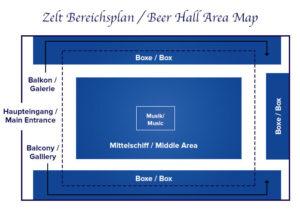 seating areas | Paulaner festzelt