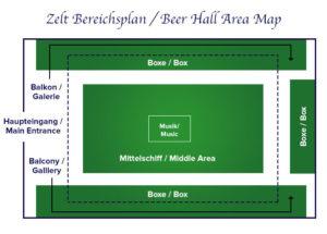 Zeltbereichsplan Schützen-Festzelt