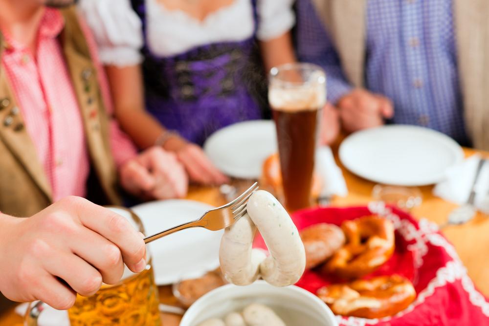 Weißwurst richtig essen