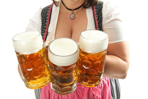 Oktoberfest facts and figures waitresses