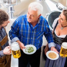 Bierbrauen Oktoberfest