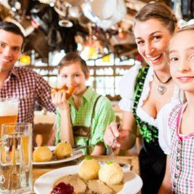 Cheap Oktoberfest family