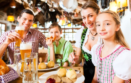 Oktoberfest Familie Sparen
