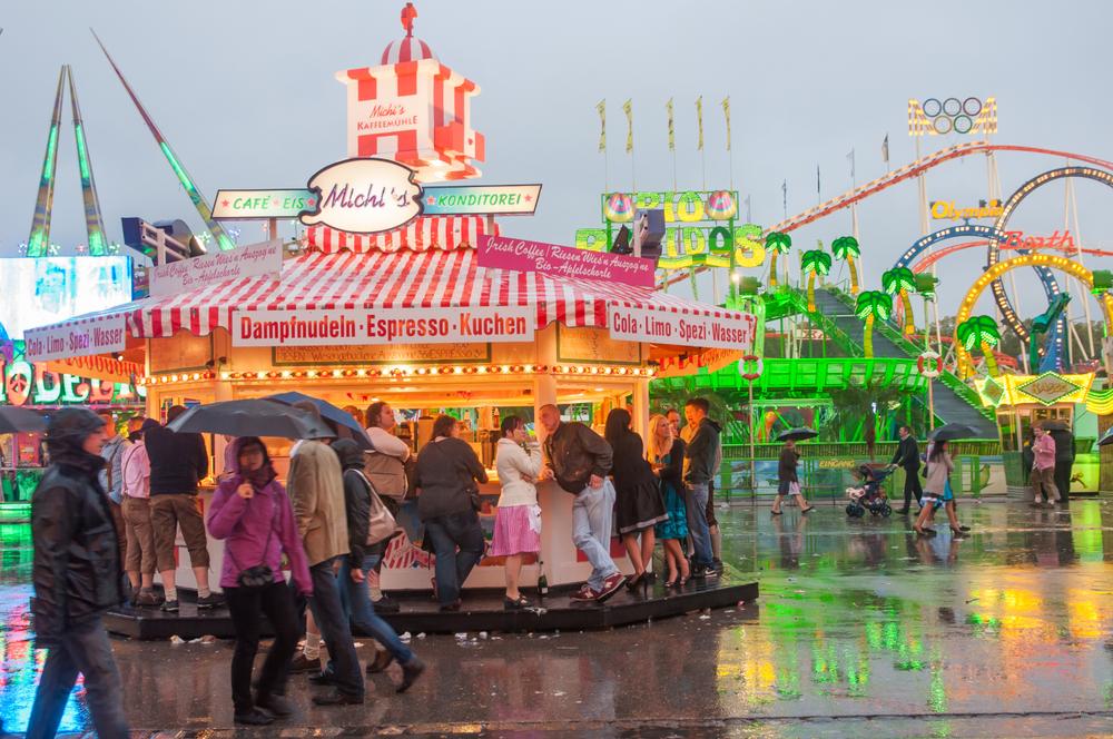 Oktoberfest bester Zeitpunkt Regentag