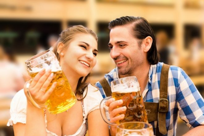 Wiesn Flirt:Why you aren't alone for long I