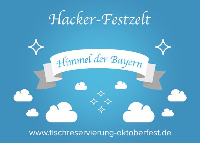 Reservierung Hacker Festzelt Oktoberfest | Tischreservierung-Oktoberfest.de