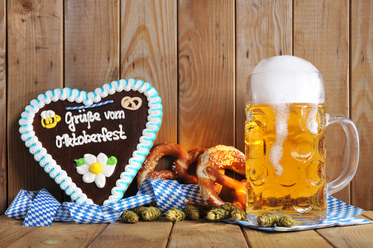 Oktoberfest Unternehmen Marketing Produkte