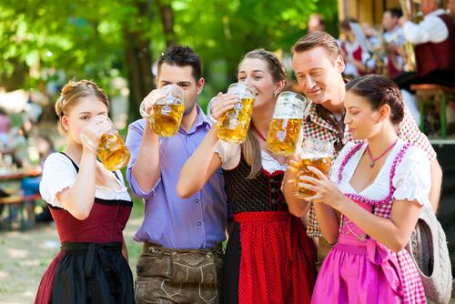 Prosit der Gemütlichkeit Tischreservierung oktoberfest